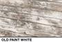 peeling paint barn wood dimensional slat wall wall display