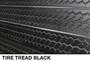 fake tire tread 3D slatwall wall display