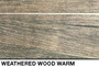 brownish weathered rustic wood slatwall for retail wall displays