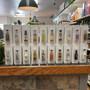 Shooter Displays mini liquor bottle 50ml airplane shot nips dispenser commercial merchandiser for liquor stores