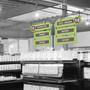 end cap display aisle signs
