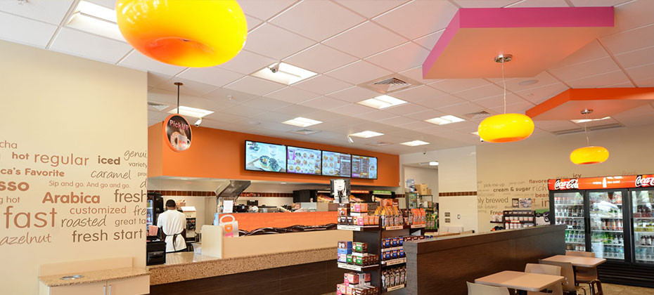 Dunkin Donuts Franchise Design Rollout