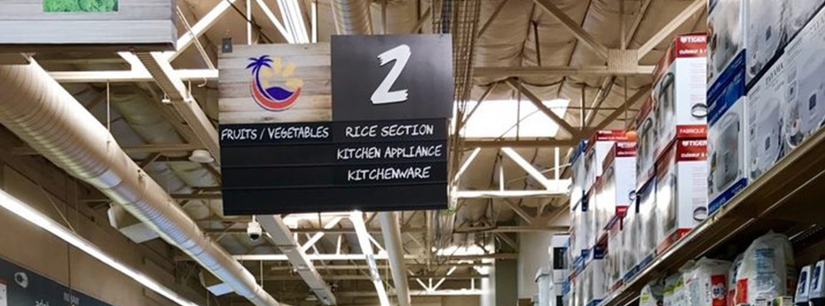 Ethnic Grocery Store Design Ideas & Signs