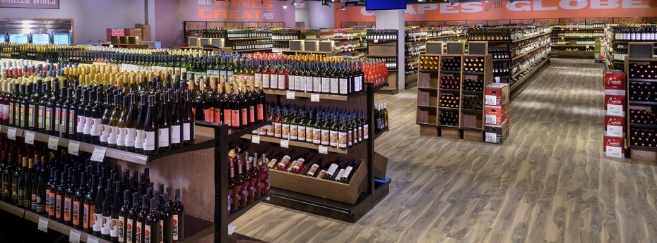You'll Love This Modern Liquor Store Design By DGS Retail
