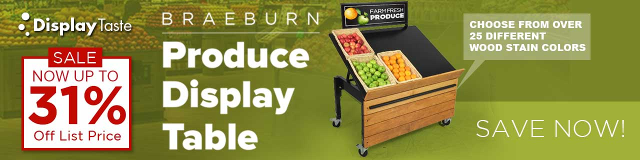 Produce Display Table