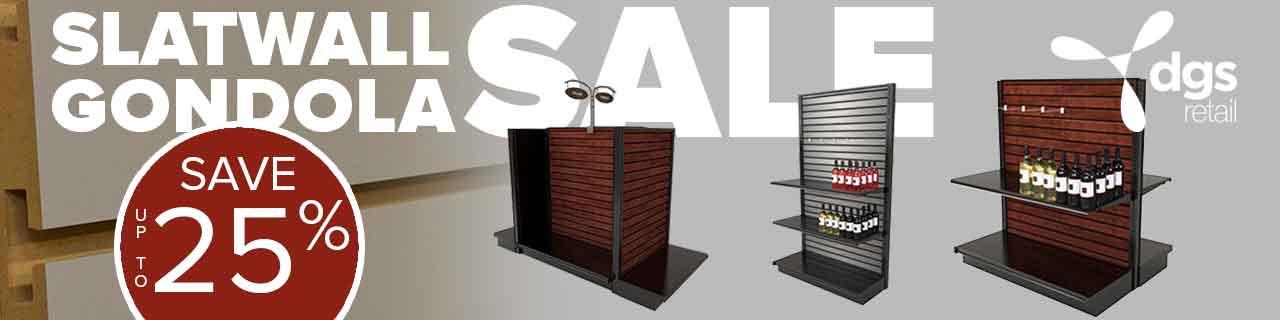 Slatwall Gondola Sale