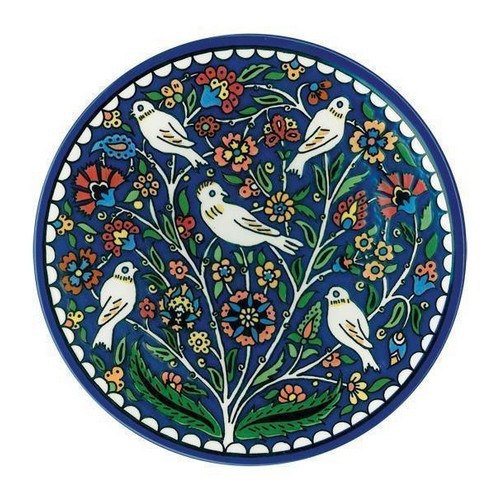 Wall Plate: Tree of Life 22cm