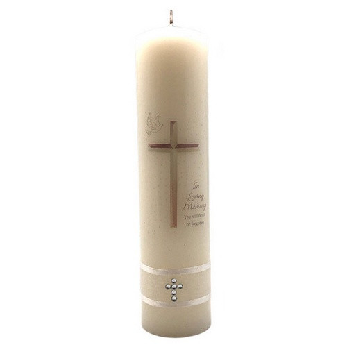 Candle: In Loving Memory 20cm