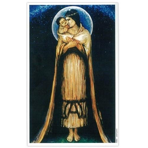 Print: Maori Madonna - 32.5cm x 59.5cm
