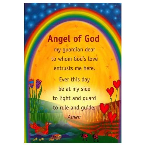 Poster: Angel of God Children - 29.5cm x 42 cm