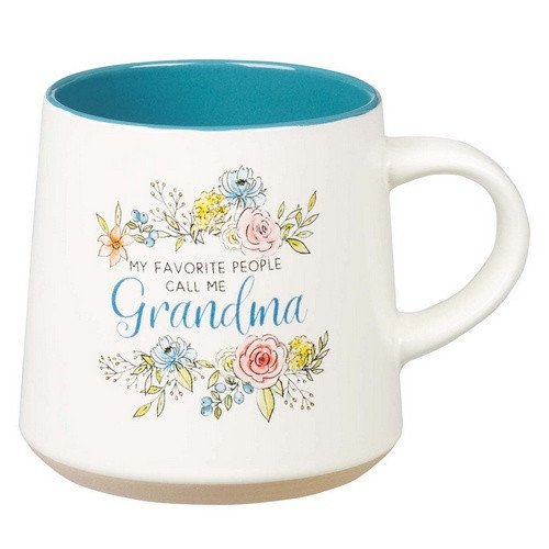 Mug: My Favourite People Call Me Grandma