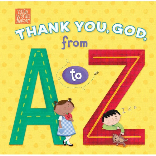 Book: Thank You God from A to Z