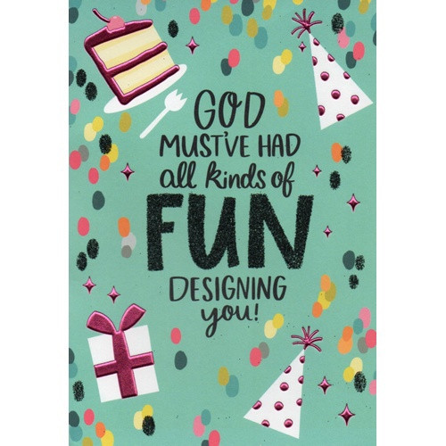 Birthday Card: All Kinds Of Fun