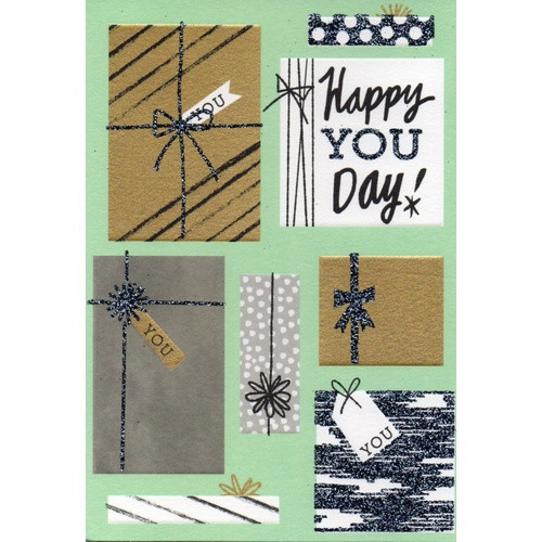 Birthday Card: Happy You Day