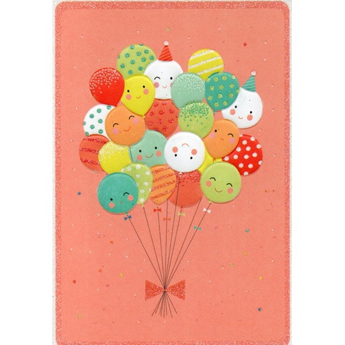 Birthday Card: Happy All Over