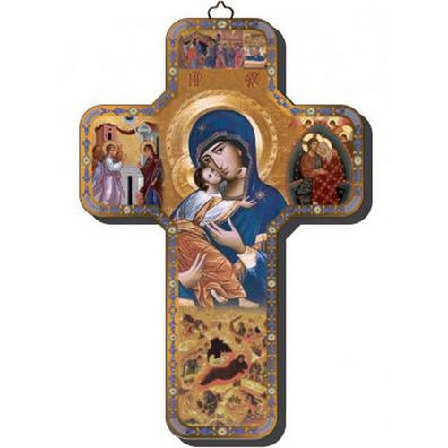 Cross Icon:  Our Lady of Tenderness