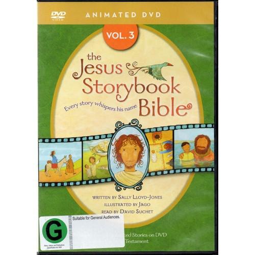 DVD: The Animated Jesus Storybook Bible - Volume 3