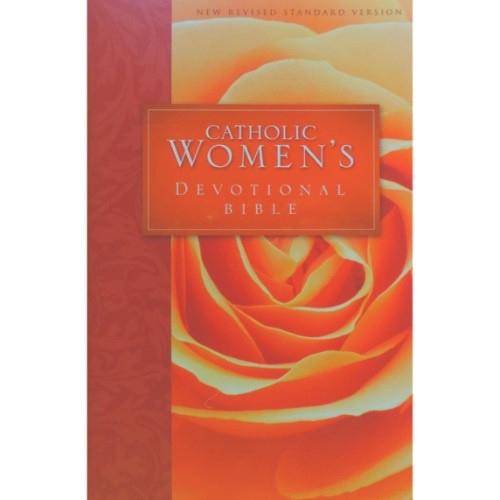 Bible: Catholic Women's Devotional Bible NRSV Hardcover