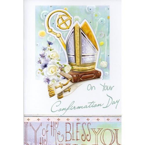 Card:  Confirmation Boy
