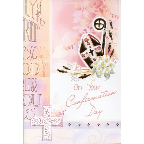 Card:  Confirmation Girl