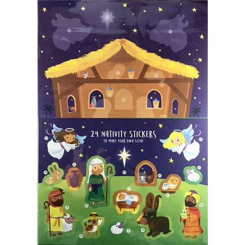 Advent Calendar:  Away in the Manger