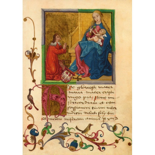 10 Pack of Cards: Christmas - Virgin and Child Traditional