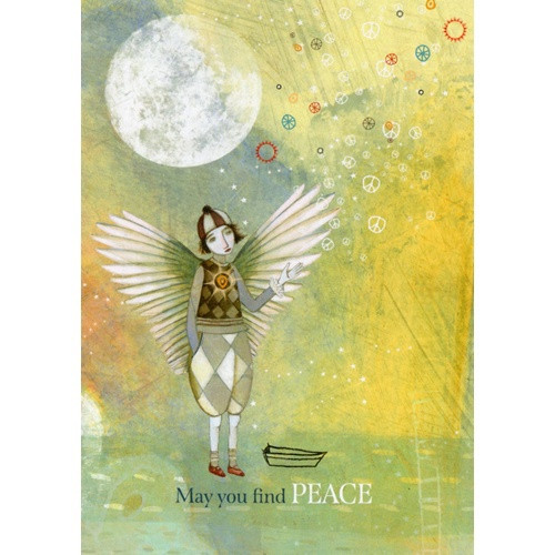 Card: May You Find Peace