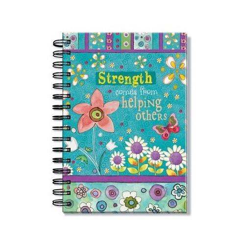 Journal: Strength/ Blue
