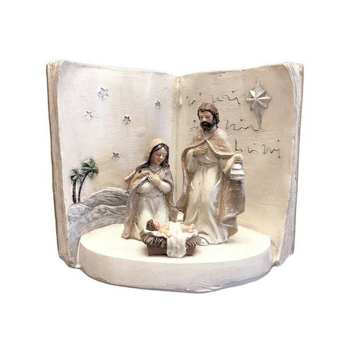 Nativity Scene: Holy Family LED