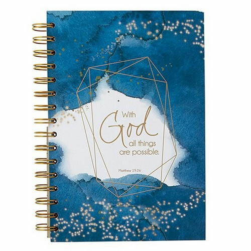Grid Dot Journal: All Things Are Possible - Spiral-Bound
