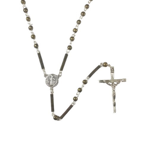 Rosary Beads: 5mm Gunmetal