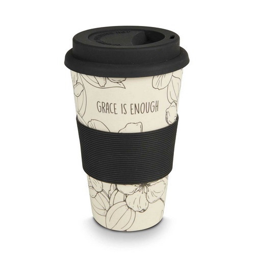 Bamboo Travel Cup: Grace is Enough