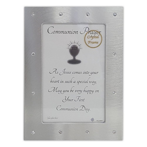 Photo Frame: First Communion Metal
