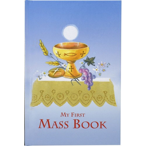 My First Mass Book - Blue Hardcover