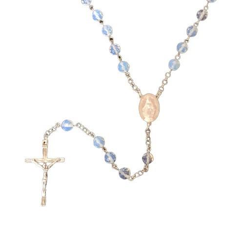 Rosary: Moonstone Crystal