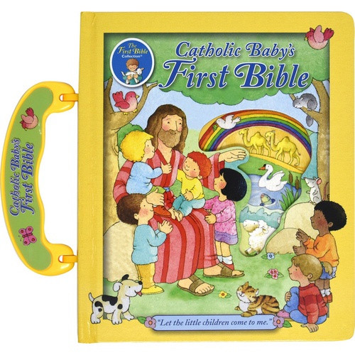 Catholic Baby's First Bible - With Handle