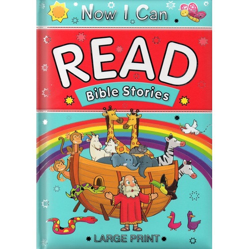 Book: Now I Can Read Bible Stories - Large Print