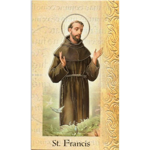 Pamphlet:  Biography St Francis