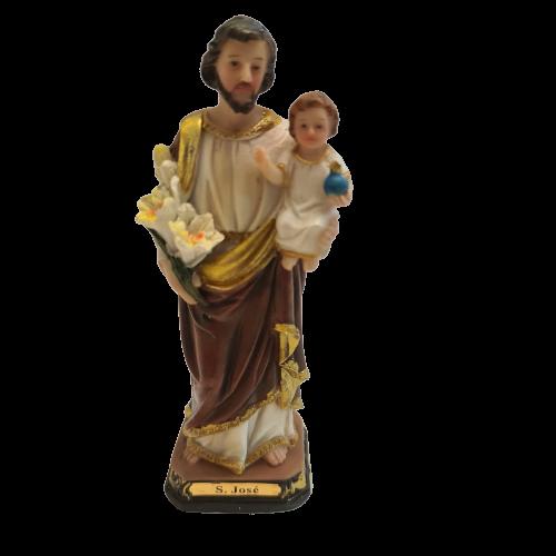 St Joseph with Child Statue 13cm