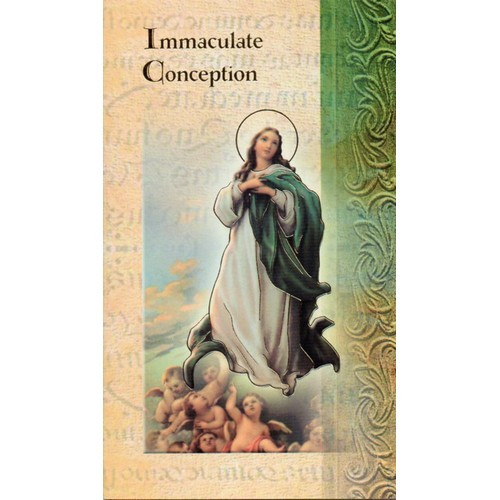 Pamphlet: Biography Immaculate Conception