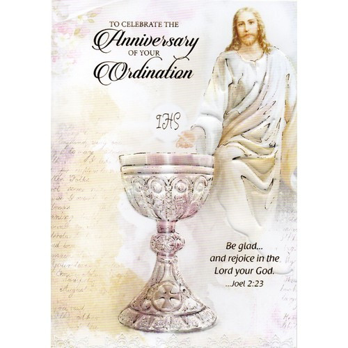 Card: Ordination Anniversary