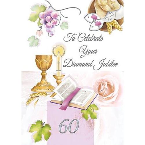 Card: 60th Diamond Jubilee