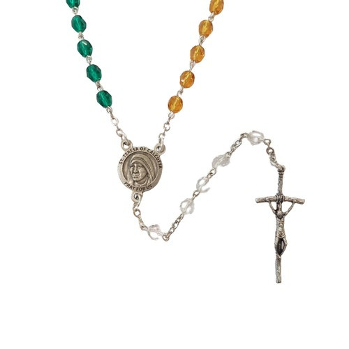 Rosary: St Theresa Missionary Colourful
