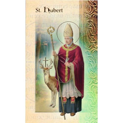 Pamphlet: Biography St Hubert