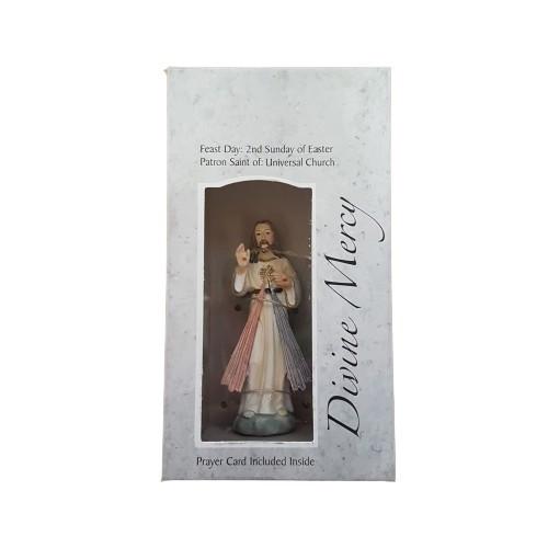 Statue: Divine Mercy in Box 9cm