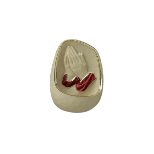 Holy Water Font: Praying Hands - 110mm x 80mm