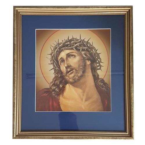 Framed Holy Picture: Jesus