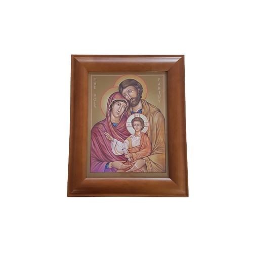 Framed Holy Picture: Holy Family