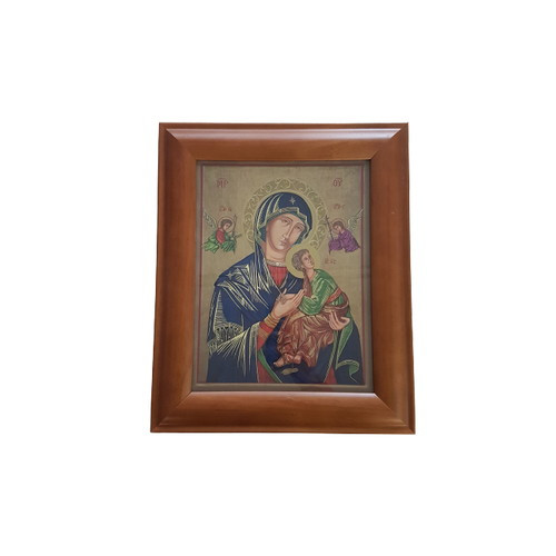Framed Holy Picture: Our Lady of Perpetual Help