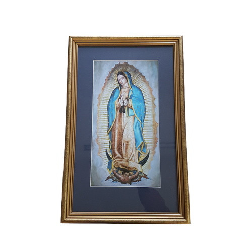 Framed Holy Picture: Our Lady of Guadalupe